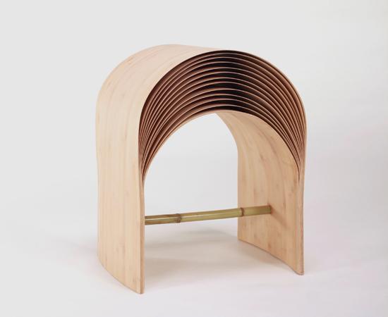 La flexibilidad de la madera