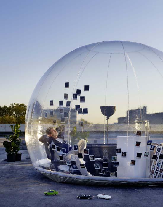 Bathroom Bubble. ISH 2013