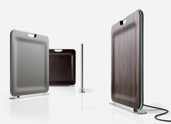 Baños Portatiles Elegantes:Los elegantes radiadores portátiles de Enzo Berti